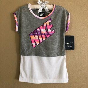 NWT Nike Kids 2 piece set